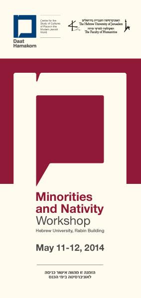 Poster of Minorities and Nativity seminar