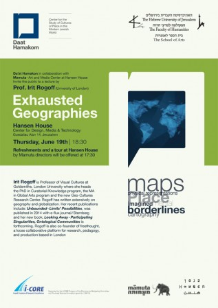 Exhausted Geographies - Poster
