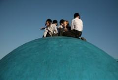 IMG_2070 ילדים על הכיפה המרכזית יום כיפור קטן ראש חודש אלול תשעד